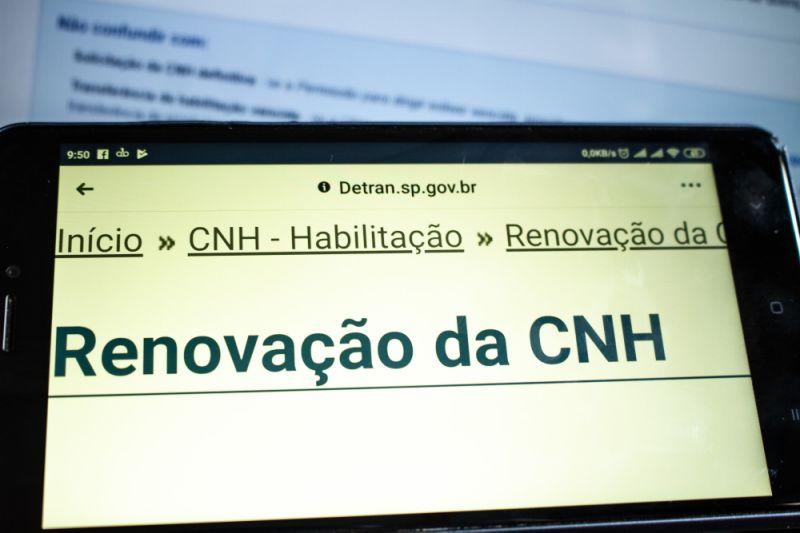 SP: não é mais necessário ir ao Detran para renovar CNH